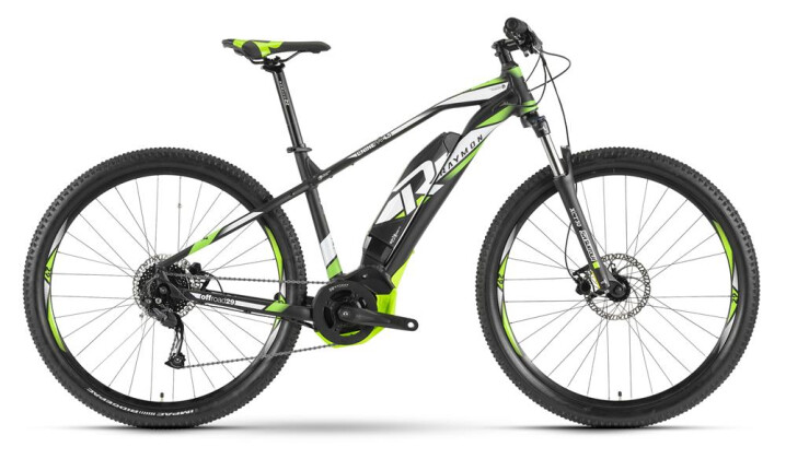 E-Bike Raymon E-Nineray 4.5 Schwarz 2019