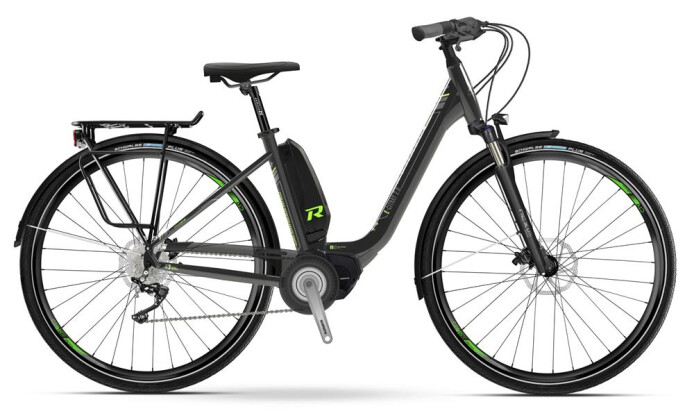 E-Bike Raymon E-Citray 2.0 Schwarz/Grün 2019