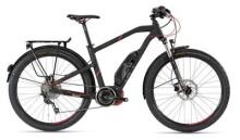 E-Bike Husqvarna E-Bicycles LC2 Allroad Schwarz/Neon Rot