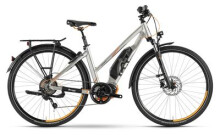 E-Bike Husqvarna Bicycles LT LTD Trapez Polar Silber