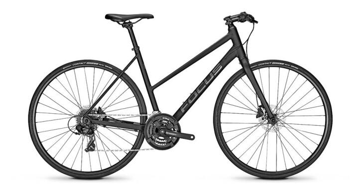 Urban-Bike Focus ARRIBA 3.8 Schwarz Trapez 2019