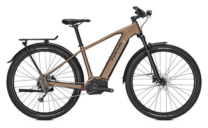 E-Bike Focus AVENTURA² 6.7 Sand 2019