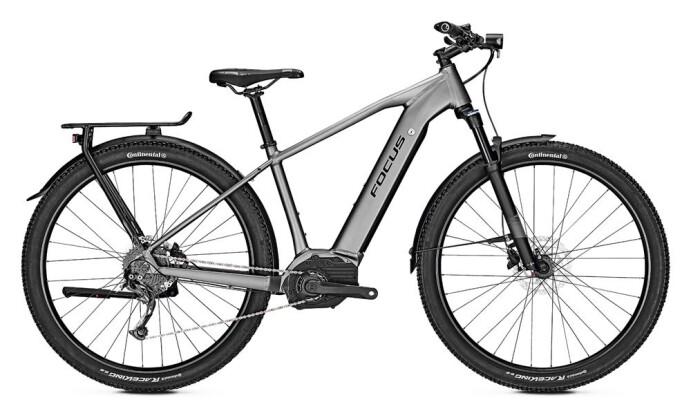 E-Bike Focus AVENTURA² 6.7 Anthrazit 2019