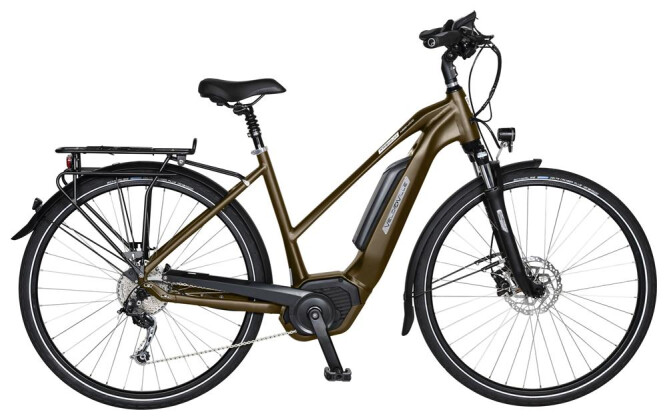 E-Bike Velo de Ville AEB400 8 Gang Shimano Alfine Freilauf 2019
