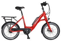 "E-Bike Velo de Ville KEB200 Kompakt 20"" 3 Gang Shimano Nexus Freilauf"