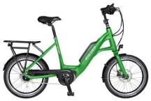 "E-Bike Velo de Ville KEB400 Kompakt 20"" 8 Gang Shimano Nexus Rücktritt"