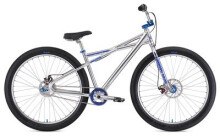 BMX SE Bikes MONSTER QUAD 29+ High Polish Silver