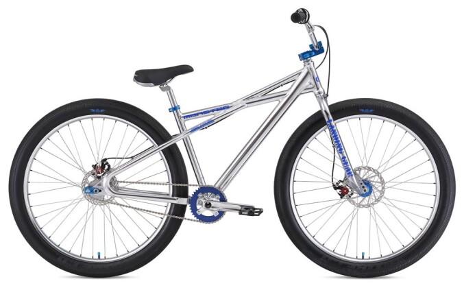 BMX SE Bikes MONSTER QUAD 29+ High Polish Silver 2019