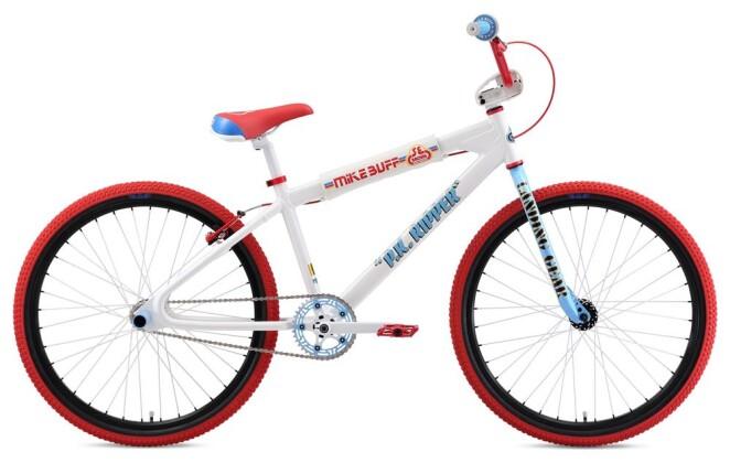 BMX SE Bikes MIKE BUFF PK RIPPER LOOPTAIL 26 White 2019
