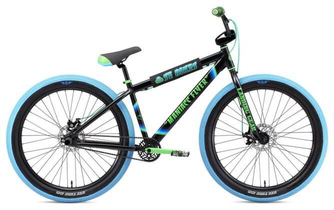 BMX SE Bikes MANIACC FLYER 27,5+ Black 2019