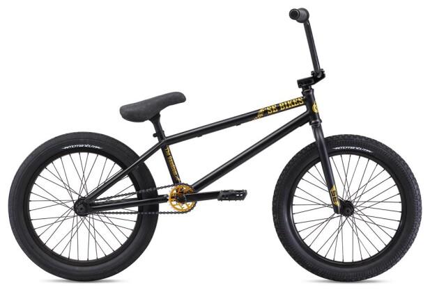 BMX SE Bikes GAUDIUM Black 2019