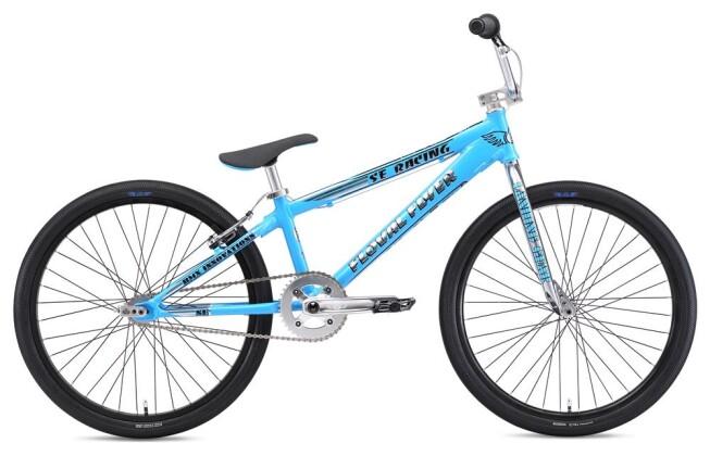 BMX SE Bikes FLOVAL FLYER 24 Blue 2019