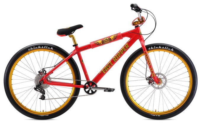 BMX SE Bikes FAST RIPPER 29 Red Lightning 2019