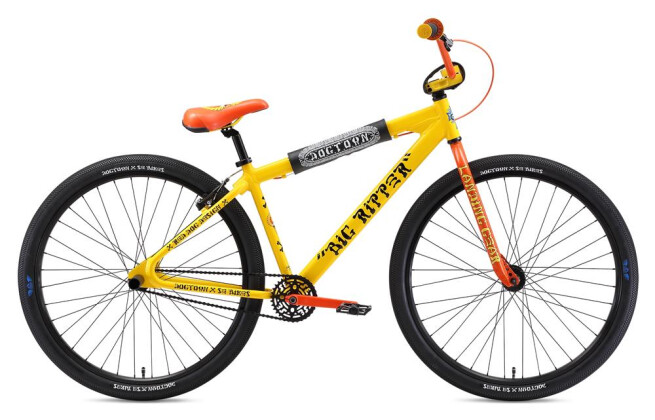 BMX SE Bikes DOGTOWN BIG RIPPER 29 Og Yellow 2019