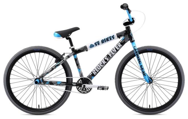 BMX SE Bikes BLOCKS FLYER 26 Camouflage 2019
