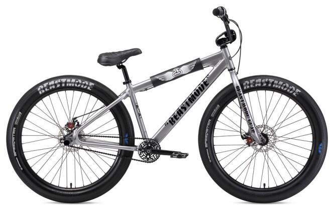 BMX SE Bikes BEAST MODE RIPPER 27,5+ Silver 2019