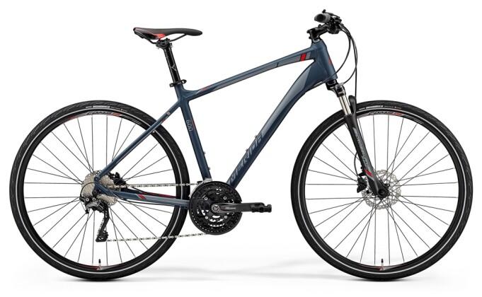 Crossbike Merida CROSSWAY 600 MATT GRAU 2019