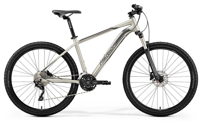 Mountainbike Merida BIG.SEVEN 80-D MATT TITAN 2019
