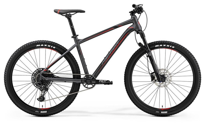 Mountainbike Merida BIG.SEVEN 600 DUNKELSILBER 2019
