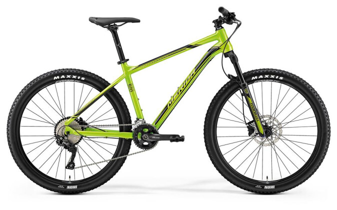 Mountainbike Merida BIG.SEVEN 500 GRÜN 2019