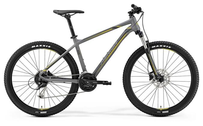 Mountainbike Merida BIG.SEVEN 100 MATT-GRAU 2019