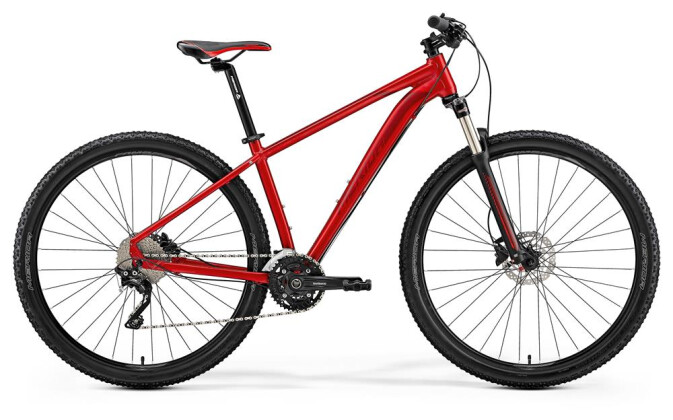 Mountainbike Merida BIG.NINE 80-D DUNKELROT 2019