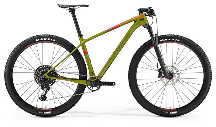 Mountainbike Merida BIG.NINE 6000 MATT-OLIVEGRÜN 2019