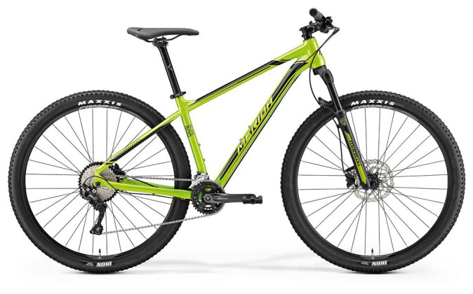 Mountainbike Merida BIG.NINE 500 GRÜN 2019