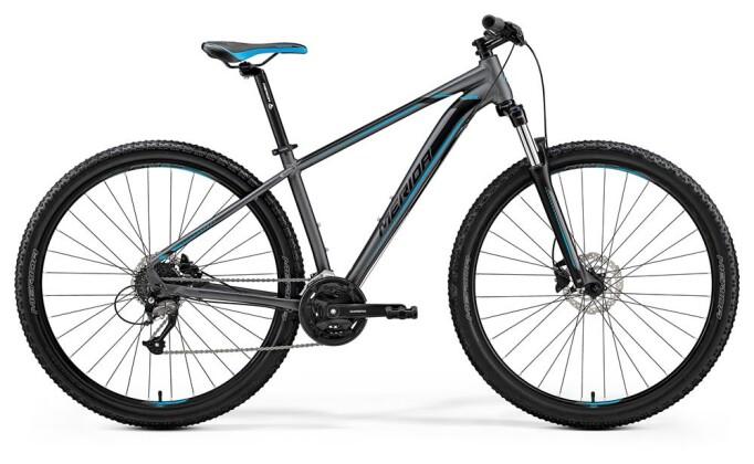 Mountainbike Merida BIG.NINE 40-D MATT SILBER 2019