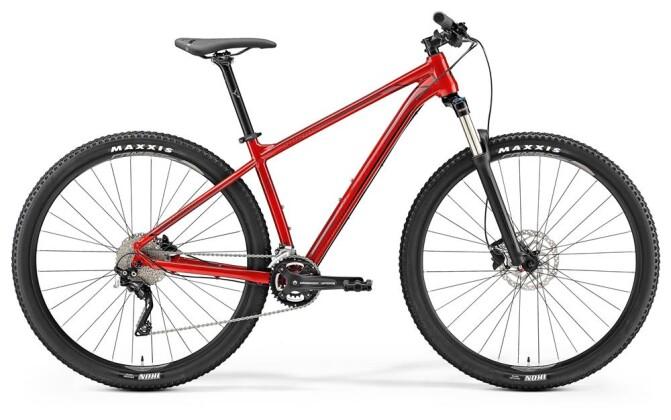 Mountainbike Merida BIG.NINE 300 ROT 2019