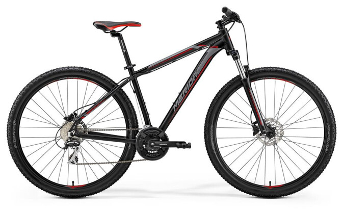 Mountainbike Merida BIG.NINE 20-D MATT-SCHWARZ 2019