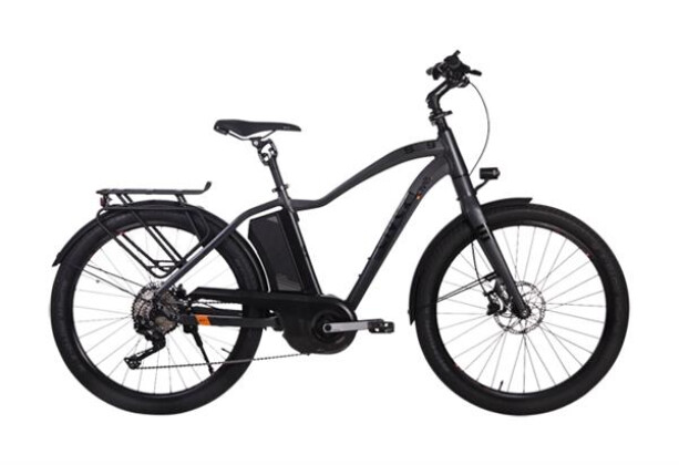 E-Bike AVE SH9 Gent XT smoke grey 2019