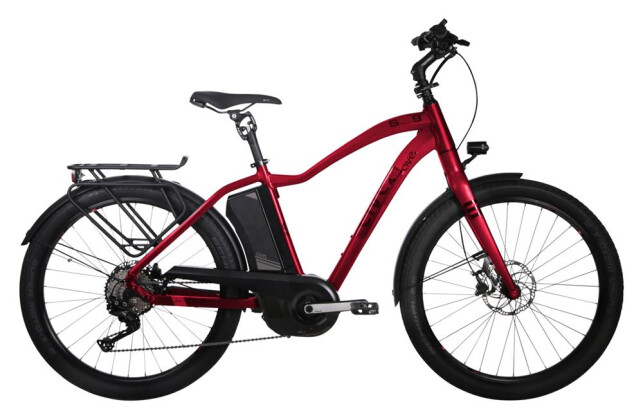 E-Bike AVE SH9 Gent XT rubin red 2019