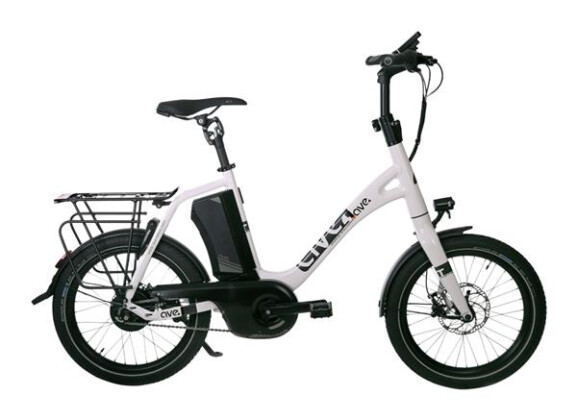 E-Bike AVE MH9 Nuvinci white 2019