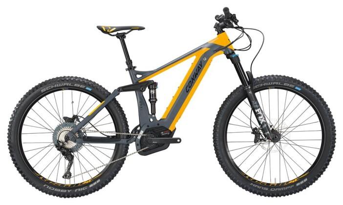 E-Bike Conway eMF 527 Plus grey matt/orange 2019