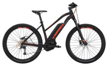 E-Bike Conway eMS 227 SE 400 Trapez black matt/orange