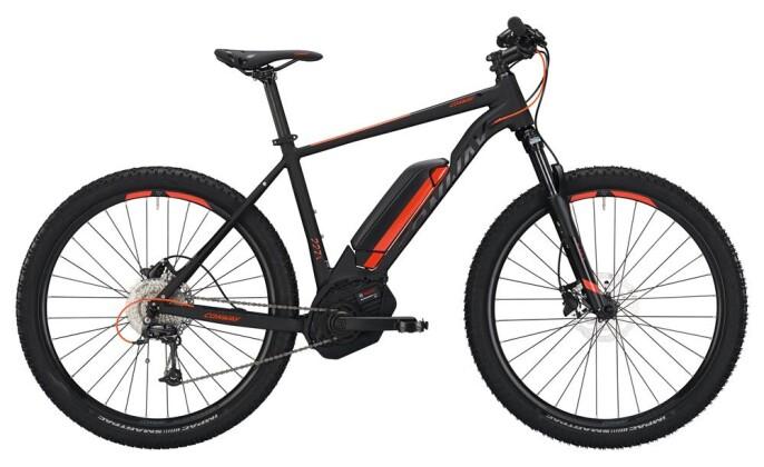 E-Bike Conway eMS 227 SE 400 Diamant black matt/orange 2019