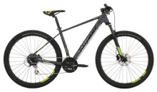 Mountainbike Conway MS 427 grey matt/lime