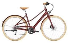 Trekkingbike Kalkhoff SCENT FLOW weinrot