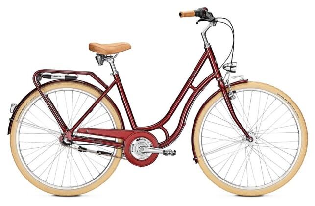 Citybike Kalkhoff CITY CLASSIC 7R weinrot 2019