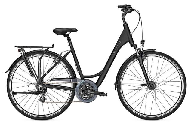 Trekkingbike Kalkhoff AGATTU 21 W schwarz matt 2019