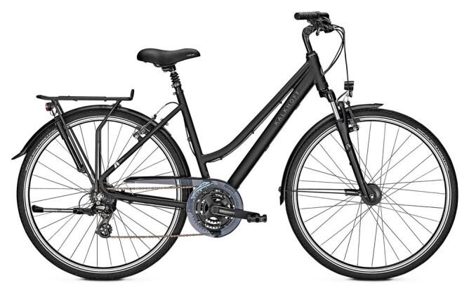 Trekkingbike Kalkhoff AGATTU 21 D schwarz matt 2019