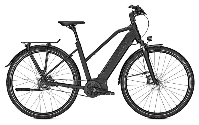 E-Bike Kalkhoff ENDEAVOUR 5.I BELT D schwarz matt 2019