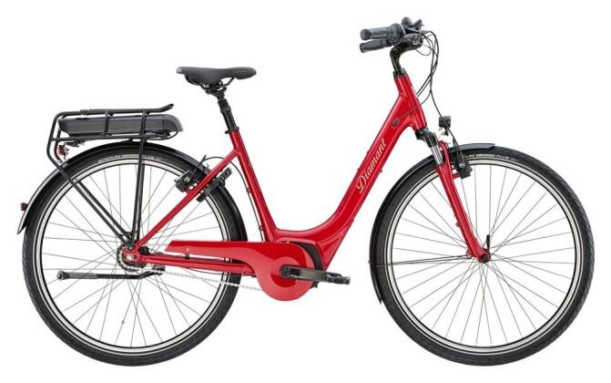 E-Bike Diamant Achat Deluxe+ RT Rot 2019