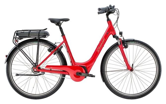 E-Bike Diamant Achat Deluxe+ Rot 2019