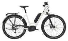 E-Bike Diamant Elan+ Tiefeinsteiger Weiß