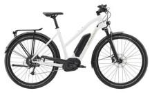 E-Bike Diamant Elan+ Trapez Weiß