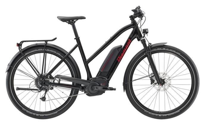 E-Bike Diamant Elan+ Trapez Schwarz 2019