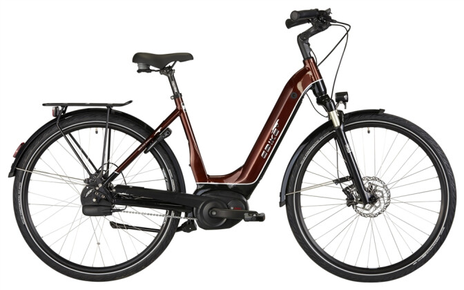 E-Bike EBIKE C001+ BOURBON STREET 2019
