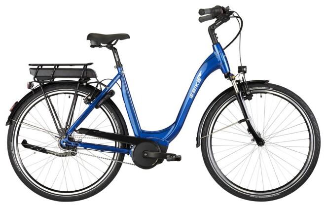 E-Bike EBIKE C007 BLUE LAGOON 2019